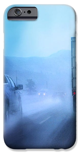 THE DRIVE HOME iPhone Case by Theresa Tahara