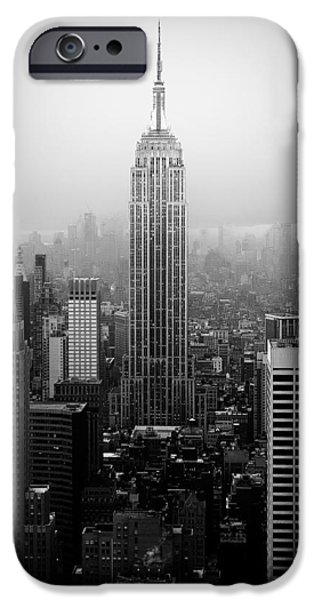 The Empire State Building in New York City iPhone Case by Ilker Goksen