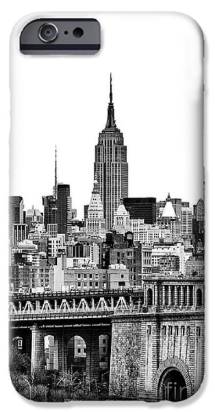 The New York New York iPhone Cases - The Empire State Building iPhone Case by John Farnan
