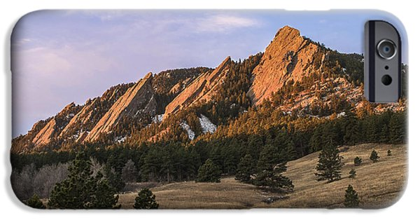 Front Range iPhone Cases - The Flatirons iPhone Case by Aaron Spong