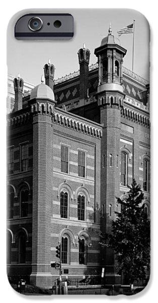 The Franklin School - Washington DC iPhone Case by Mountain Dreams