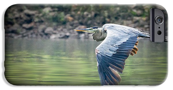 Arkansas iPhone Cases - The Glide iPhone Case by Annette Hugen