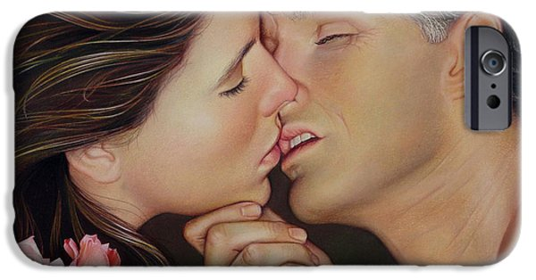 Rose iPhone Cases - The Kiss iPhone Case by Patrick Anthony Pierson