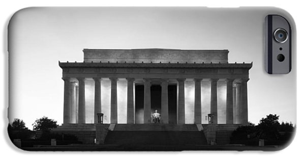 Lincoln iPhone Cases - The Lincoln Memorial iPhone Case by Mountain Dreams