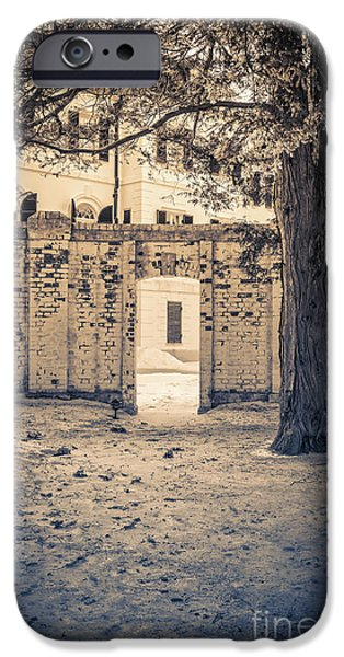 House iPhone Cases - The Mount Edith Warton Estate Lenox Ma iPhone Case by Edward Fielding