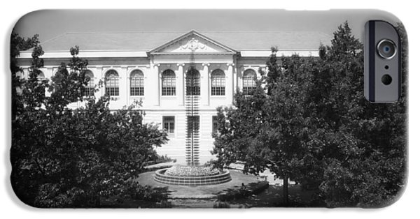 Arkansas iPhone Cases - The Old Main - University of Arkansas iPhone Case by Mountain Dreams