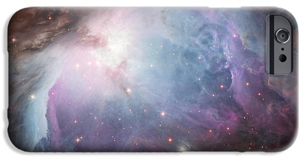 Stellar iPhone Cases - The Orion Nebula 1 iPhone Case by Eric Glaser