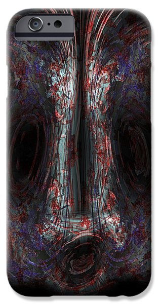 Liberation Paintings iPhone Cases - The Painter iPhone Case by Christopher Gaston