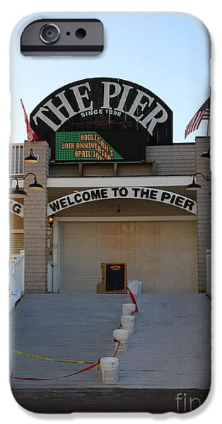 The Pier iPhone Case by Michael Mooney
