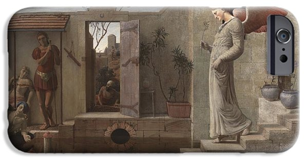 The Pool iPhone Cases - The Pool of Bethesda iPhone Case by Robert Bateman