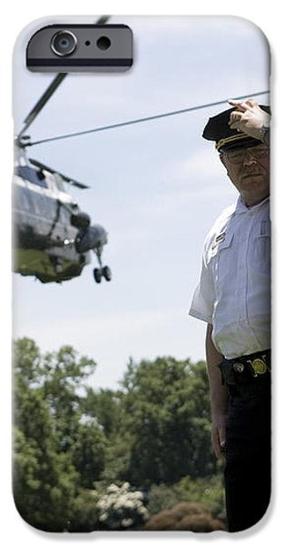 Marine One iPhone Case by JP Tripp