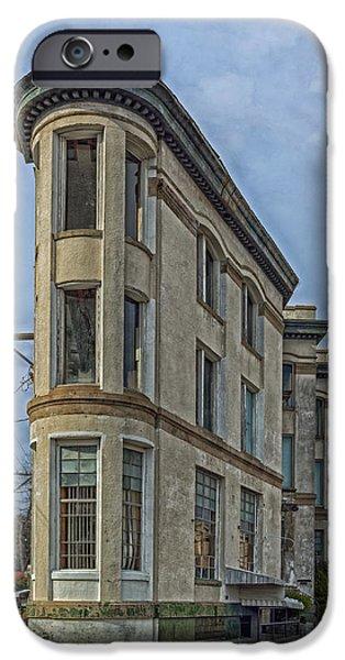 Arkansas iPhone Cases - The Rialto Building of Texarkana iPhone Case by Mountain Dreams
