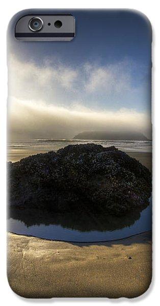 The Rock iPhone Case by Debra and Dave Vanderlaan