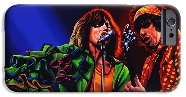 Bang iPhone Cases - The Rolling Stones iPhone Case by Paul  Meijering