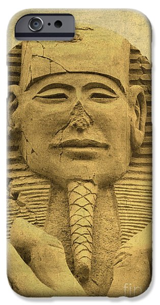Sand Castles iPhone Cases - The Sphinx iPhone Case by Sophie Vigneault