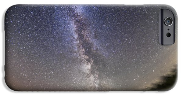 Constellations iPhone Cases - The Summer Milky Way On A Clear iPhone Case by Alan Dyer