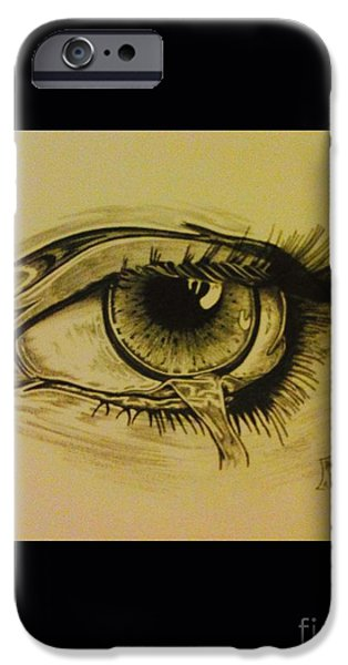 Torn iPhone Cases - The tear iPhone Case by Lowkey  Luciano