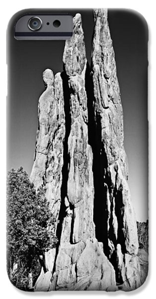 Landscape Poster Photographs iPhone Cases - The Three Graces iPhone Case by Stephen Stookey