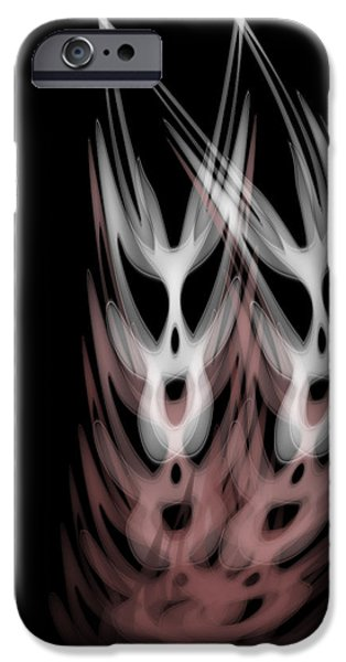 The Twins iPhone Case by Christopher Gaston