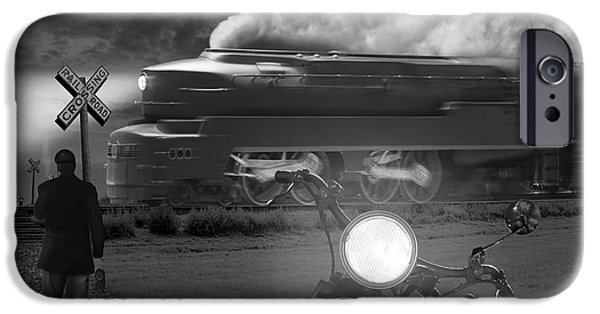 Smoke iPhone Cases - The Wait iPhone Case by Mike McGlothlen