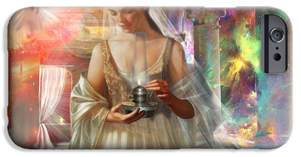 Bride iPhone Cases - The Waiting Bride iPhone Case by Dolores Develde