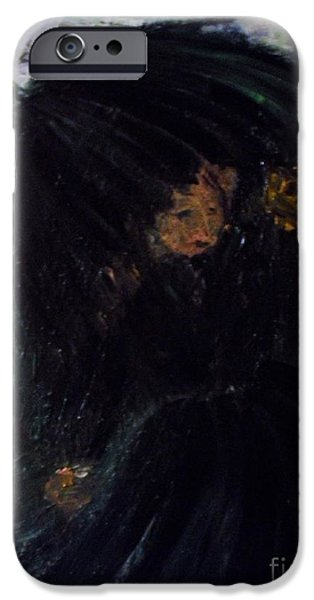 The Widow iPhone Case by Laurie D Lundquist