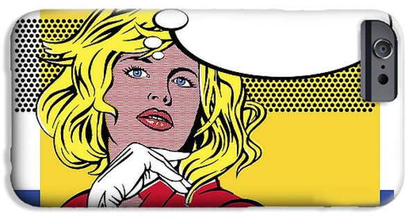 Thinking iPhone Cases - Thinking, Conceptual Image iPhone Case by Smetek
