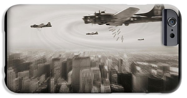 Warbird iPhone Cases - Time Warp iPhone Case by Mike McGlothlen