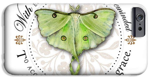 Change Paintings iPhone Cases - To accept change with grace iPhone Case by Amy Kirkpatrick