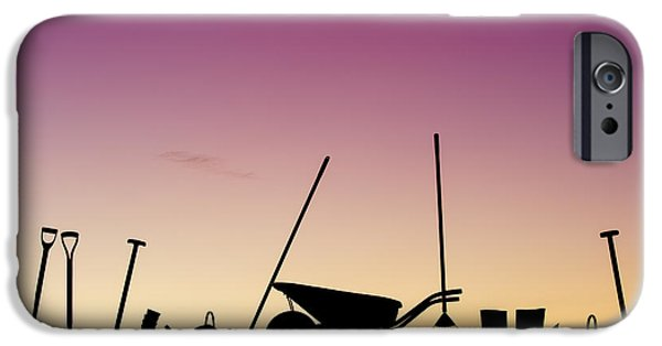Rake iPhone Cases - Tools of the Trade iPhone Case by Tim Gainey