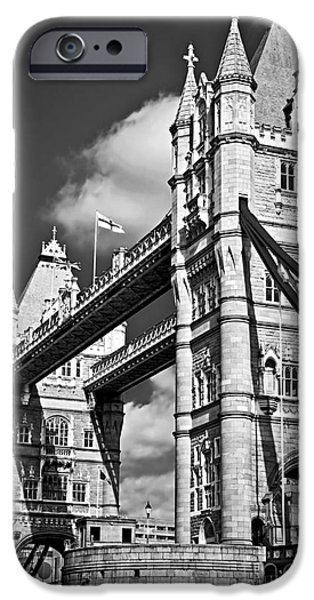 United iPhone Cases - Tower bridge in London iPhone Case by Elena Elisseeva