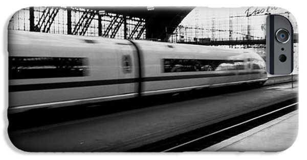 Shed iPhone Cases - Train Station, Cologne, Germany iPhone Case by Panoramic Images