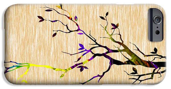 Branch iPhone Cases - Tree Branch iPhone Case by Marvin Blaine