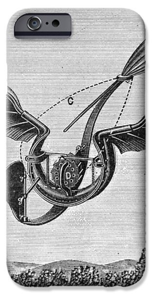 TROUV�S ORNITHOPTER iPhone Case by Granger