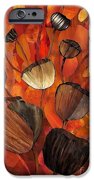 Sarah Loft iPhone Cases - Tulips and Violins iPhone Case by Sarah Loft