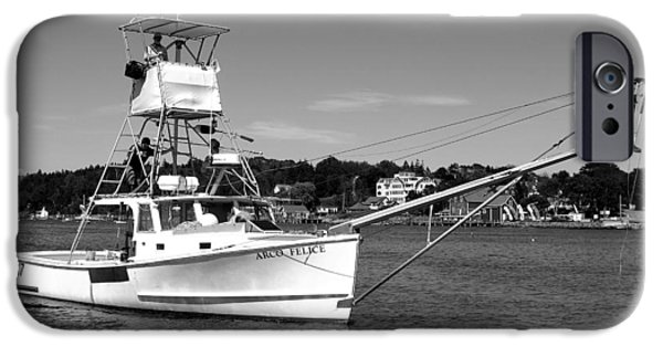 Garrison Cove iPhone Cases - Tuna Boat iPhone Case by Donnie Freeman