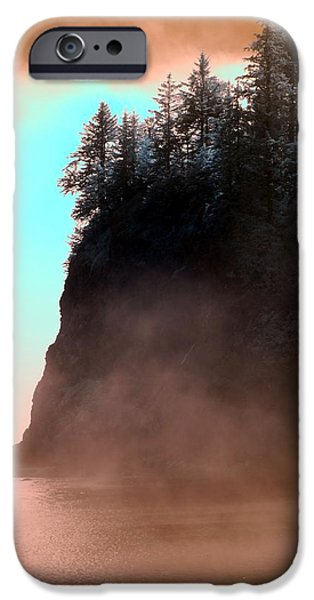 West Fork iPhone Cases - Twilight Moments iPhone Case by Rebecca Parker