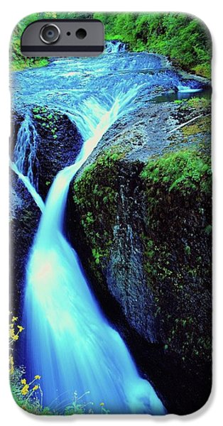 Birds iPhone Cases - Twister Falls  iPhone Case by Jeff  Swan