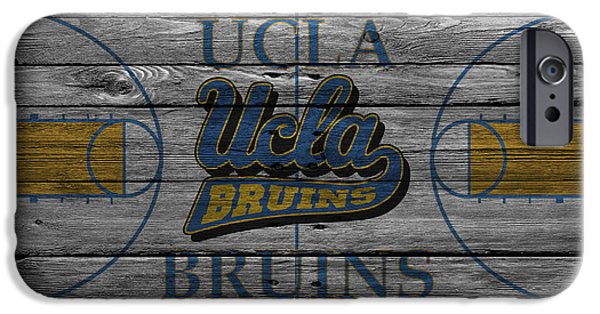 Division iPhone Cases - Ucla Bruins iPhone Case by Joe Hamilton