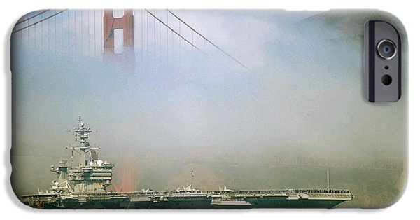 Recently Sold -  - Power iPhone Cases - Under the Golden Gate Bridge iPhone Case by Mountain Dreams