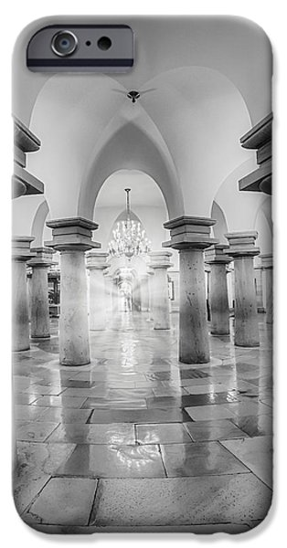 D.c. iPhone Cases - United States Capitol Crypt iPhone Case by Susan Candelario