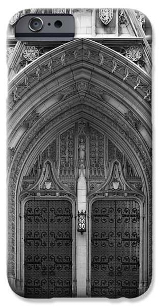 University of Pittsburgh Heinz Memorial Chapel iPhone Case by University Icons