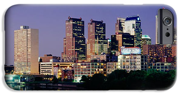 Schuylkill iPhone Cases - Us, Pennsylvania, Philadelphia Skyline iPhone Case by Panoramic Images