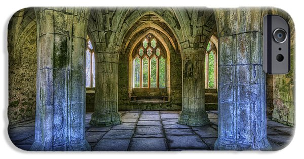 Ruins iPhone Cases - Valle Crucis iPhone Case by Ian Mitchell