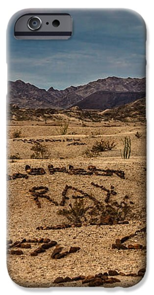 Valley of the Names iPhone Case by Robert Bales