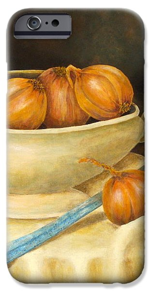 Venetian Table iPhone Case by Pamela Allegretto
