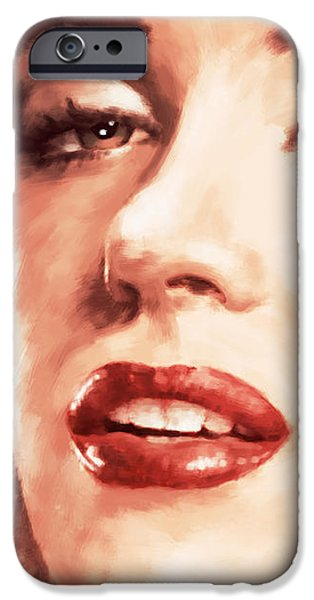 Imitation iPhone Cases - Very Beautiful iPhone Case by Atiketta Sangasaeng