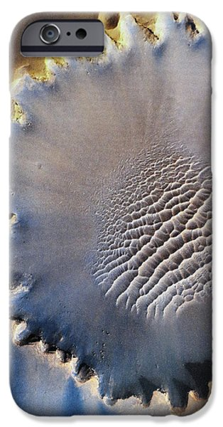 Victoria Crater iPhone Case by Patricia Januszkiewicz
