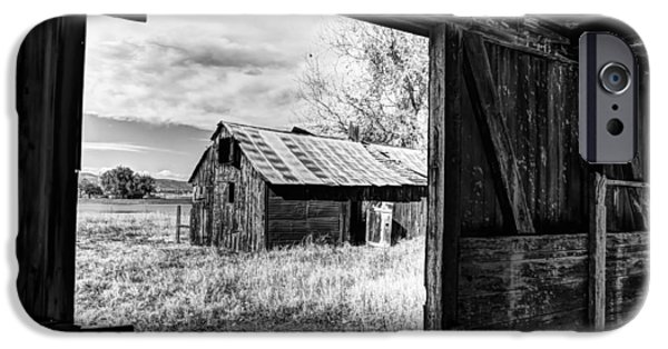 Fort Collins Photographs iPhone Cases - View From the Barn iPhone Case by Mountain Dreams