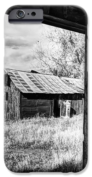 View From the Barn iPhone Case by Mountain Dreams